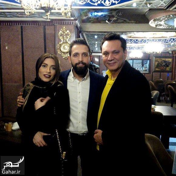 451776 Gahar ir عکس بازیگر پرحاشیه و همسرش در رستوران