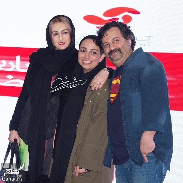 473410 Gahar ir شقایق دهقان و همسر و دختر ناتنی اش در اکران خصوصی یک فیلم/ 4 عکس