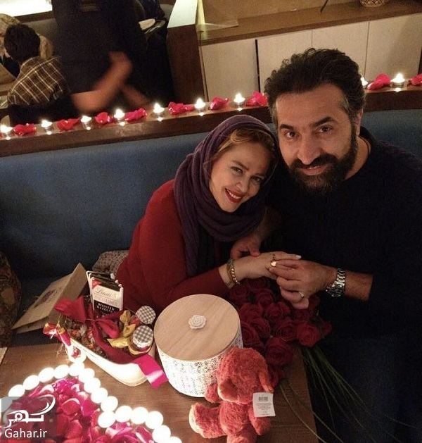 491439 Gahar ir بهاره رهنما و همسرش در شب ولنتاین / 3 عکس