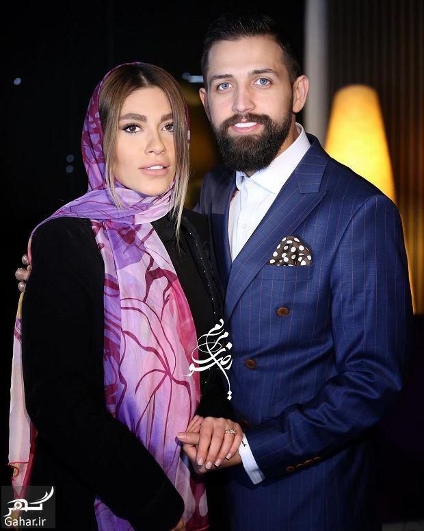 520778 Gahar ir عکس کامل محسن افشانی و همسرش سویل