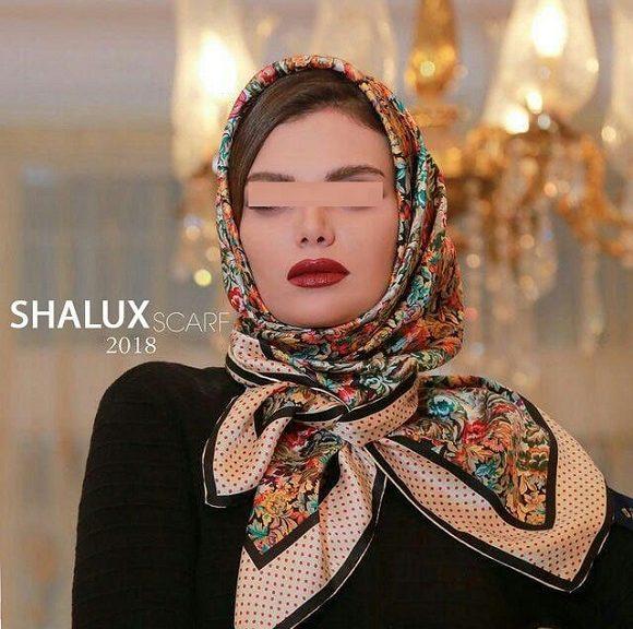 526058 Gahar ir 580x576 مدل جدید شال و روسری دخترانه و زنانه عید 97