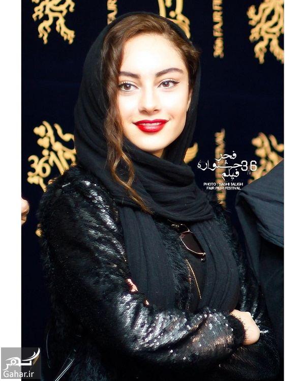 555159 Gahar ir عکسهای جذاب ترلان پروانه و مهتاب کرامتی در جشنواره فجر 36