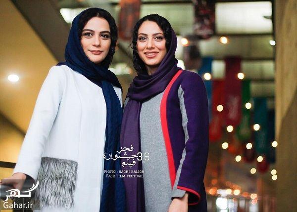 593467 Gahar ir مونا و مارال فرجاد در سی و ششمین جشنواره فیلم فجر / 3 عکس