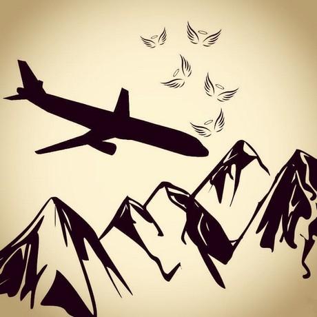 620494 Gahar ir عکس پروفایل سقوط هواپیما