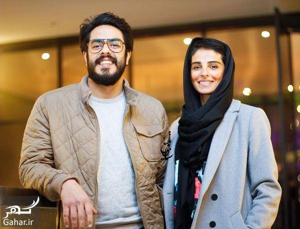 629627 Gahar ir پوریا شکیبایی و همسرش در اکران خصوصی فیلم کمدی انسانی / 3 عکس