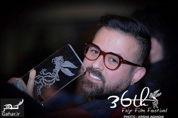 643358 Gahar ir عکسهای بازیگران در اختتامیه جشنواره فیلم فجر 96 / سری دوم