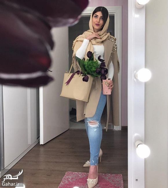 689326 Gahar ir عکس بازیگر سریال آنام با شلوار پاره و تیپ عجیب