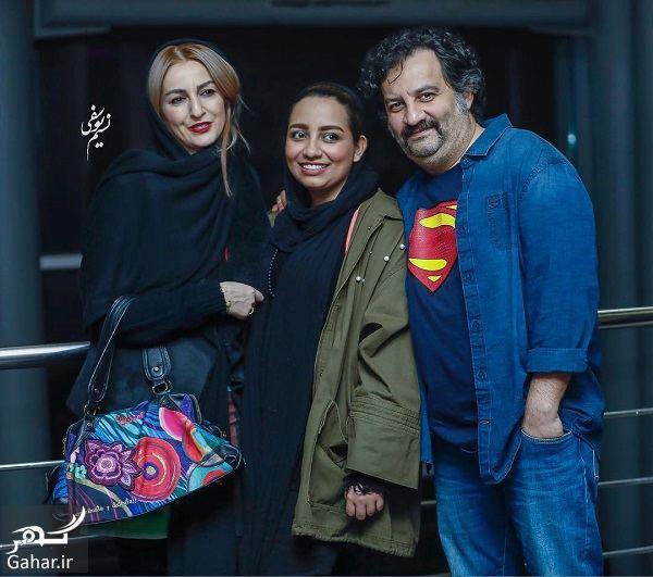 690544 Gahar ir شقایق دهقان و همسر و دختر ناتنی اش در اکران خصوصی یک فیلم/ 4 عکس