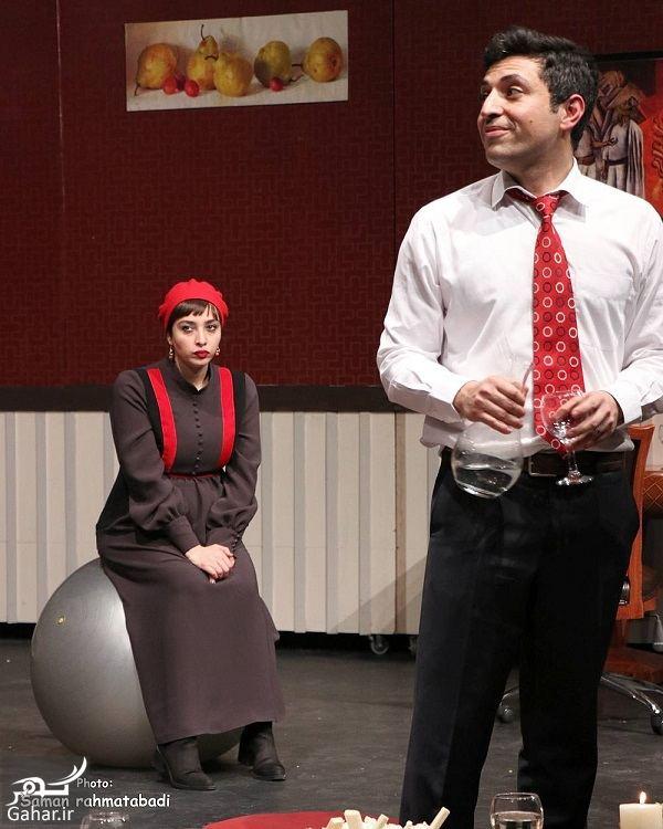 702596 Gahar ir اشکان خطیبی و همسرش (آناهیتا درگاهی) در یک نمایش / 5 عکس
