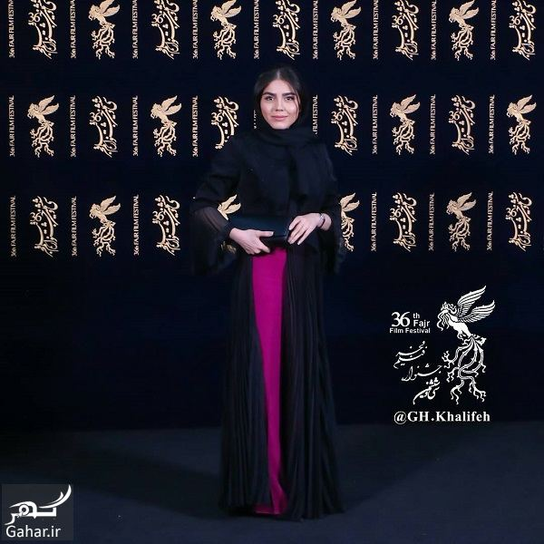 731638 Gahar ir استایل جذاب آزاده زارعی در جشنواره فیلم فجر 36 / 2 عکس