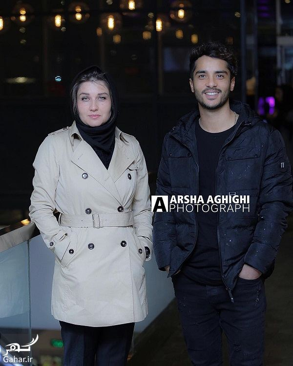 734036 Gahar ir عکسهای جدید گلوریا هاردی و ساعد سهیلی در اکران فیلم کمدی انسانی / 7 عکس