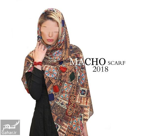 805073 Gahar ir مدل جدید شال و روسری دخترانه و زنانه عید 97