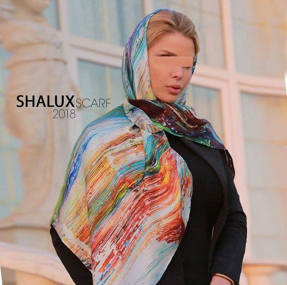817692 Gahar ir 580x576 مدل جدید شال و روسری دخترانه و زنانه عید 97