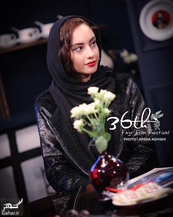 823752 Gahar ir عکسهای جذاب ترلان پروانه و مهتاب کرامتی در جشنواره فجر 36