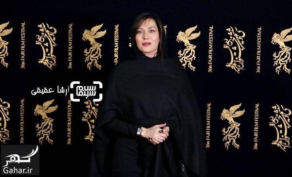 832683 Gahar ir عکسهای جذاب ترلان پروانه و مهتاب کرامتی در جشنواره فجر 36