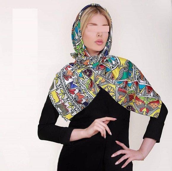 834812 Gahar ir 580x576 مدل جدید شال و روسری دخترانه و زنانه عید 97