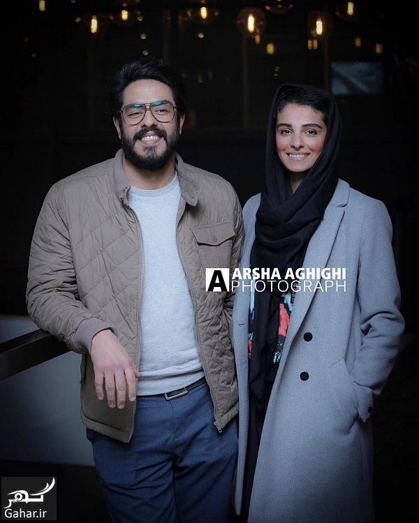 904565 Gahar ir پوریا شکیبایی و همسرش در اکران خصوصی فیلم کمدی انسانی / 3 عکس
