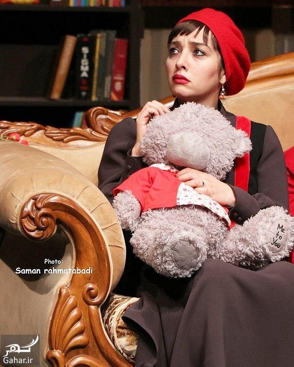 913513 Gahar ir اشکان خطیبی و همسرش (آناهیتا درگاهی) در یک نمایش / 5 عکس