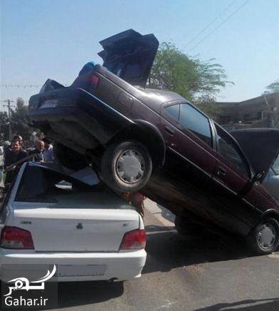 188080 Gahar ir تصادف عجیب و غیرممکن در ایران / عکس