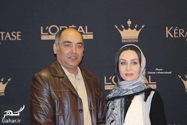 253458 Gahar ir عکسهای حدیث فولادوند و همسرش در مراسم بزرگداشت روز زن
