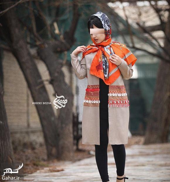 290423 Gahar ir مدل جدید مانتو زنانه و دخترانه طرح مدرن و سنتی 97