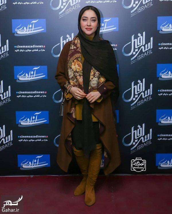 318662 Gahar ir عکسهای جدید و متفاوت بهاره کیان افشار در اکران مردمی فیلم اسرافیل