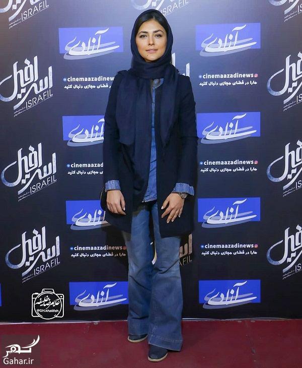 351658 Gahar ir هدی زین العابدین در اکران فیلم اسرافیل / 5 عکس