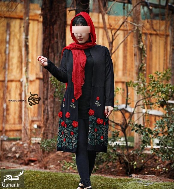 369995 Gahar ir مدل جدید مانتو زنانه و دخترانه طرح مدرن و سنتی 97