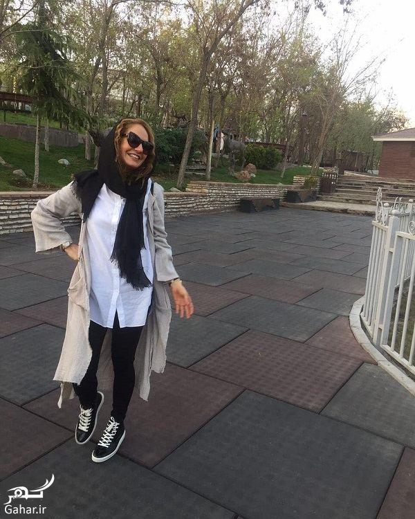 452260 Gahar ir عکس متفاوت مهناز افشار و دخترش در پارک