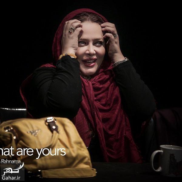549484 Gahar ir ژست های متفاوت بهاره رهنما در تئاتر جدیدش / 5 عکس
