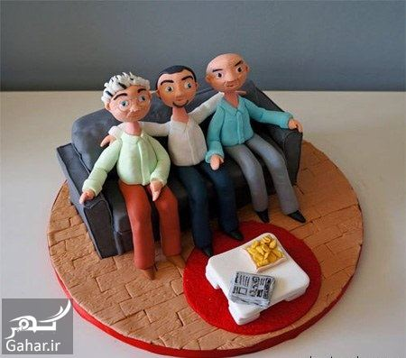 577256 Gahar ir مدل کیک روز پدر