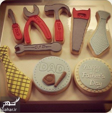 579031 Gahar ir مدل کیک روز پدر