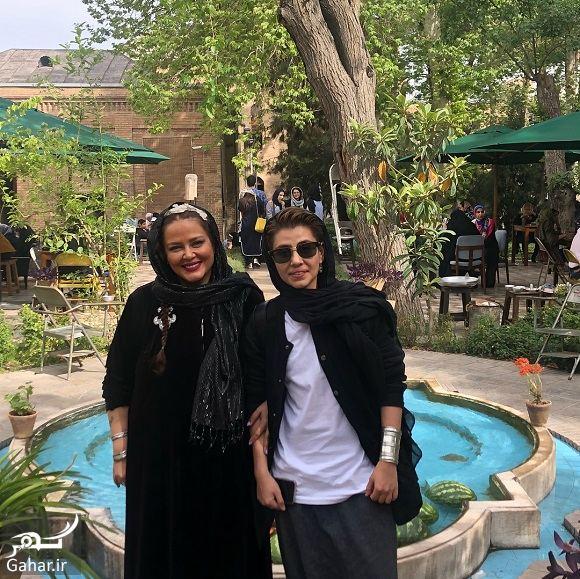 581733 Gahar ir عکسهای بهاره رهنما و دخترش در تعطیلات نوروز با تیپ عجیب!