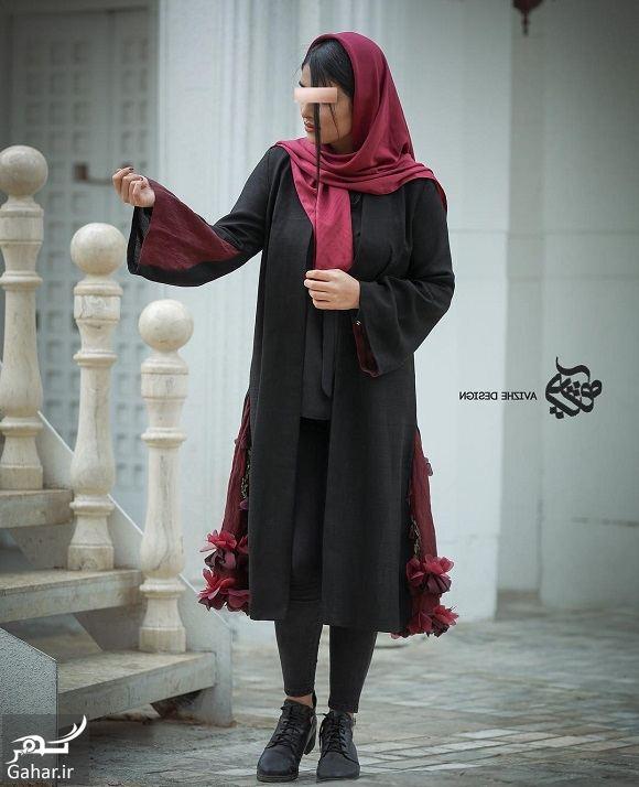 614616 Gahar ir مدل جدید مانتو زنانه و دخترانه طرح مدرن و سنتی 97