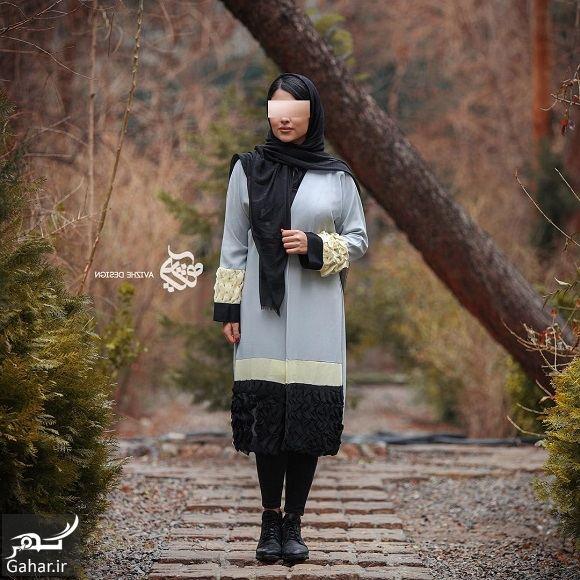 873543 Gahar ir مدل جدید مانتو زنانه و دخترانه طرح مدرن و سنتی 97