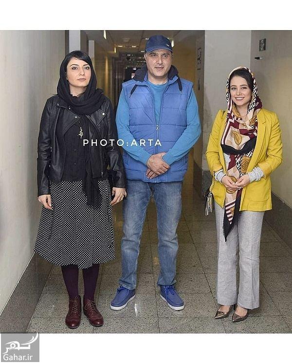 919721 Gahar ir استایل متفاوت الناز حبیبی و سمیرا حسن پور در اکران مردمی فیلم هاری / تصاویر