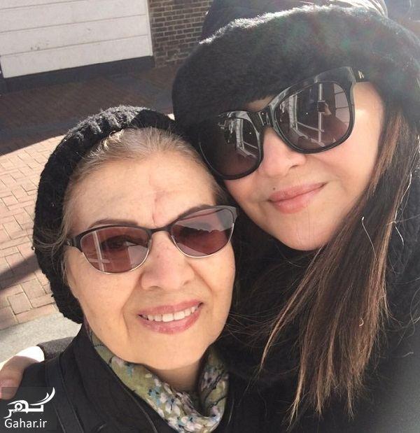 946409 Gahar ir عکس دیدنی نیکی کریمی و مادرش