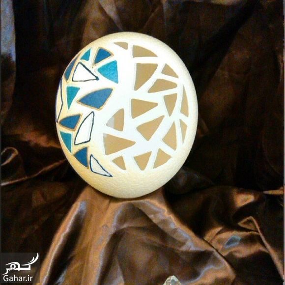 956697 Gahar ir مدل تزیین تخم مرغ سفره هفت سین 97