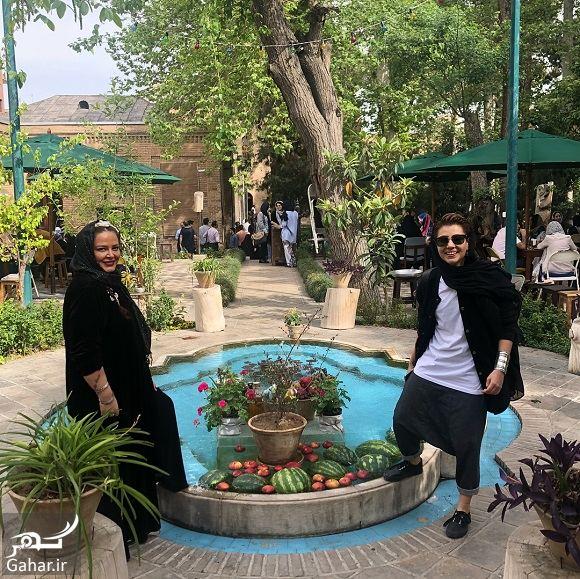 962351 Gahar ir عکسهای بهاره رهنما و دخترش در تعطیلات نوروز با تیپ عجیب!