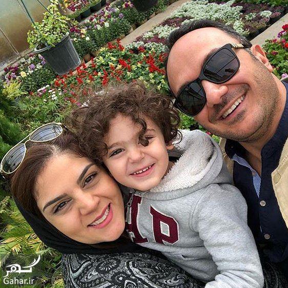 966071 Gahar ir عکس جدید احسان کرمی و همسر و فرزندش