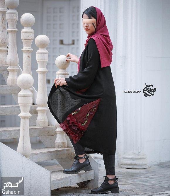 972129 Gahar ir مدل جدید مانتو زنانه و دخترانه طرح مدرن و سنتی 97