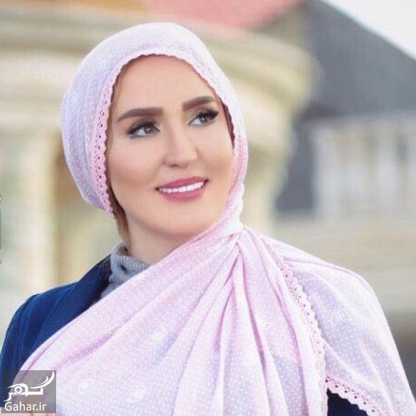 030833 Gahar ir مدل شدن زهره فکورصبور برای یک برند شال و روسری / تصاویر