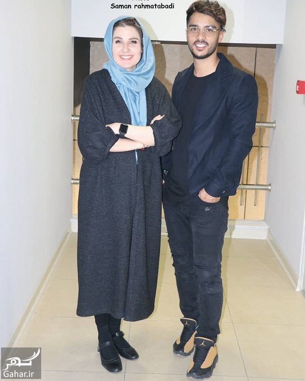 079394 Gahar ir عکسهای جدید گلوریا هاردی و همسرش در اکران مردمی لاتاری