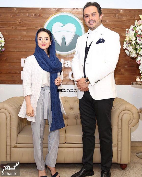 114695 Gahar ir عکس های الناز حبیبی در افتتاحیه دندانپزشکی