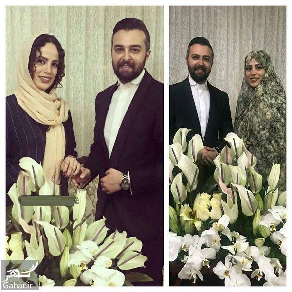 115862 Gahar ir ازدواج مجری معروف با بازیگر سینما / عکس