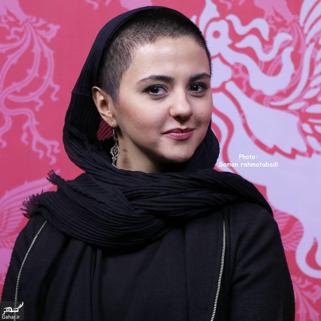 175077 Gahar ir عکس مهسا علافر بازیگر ایرانی با موی تراشیده