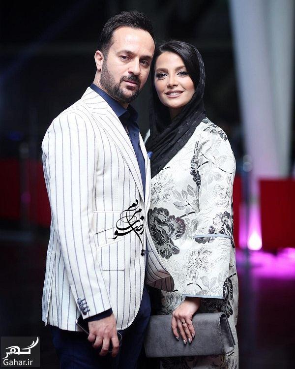 178737 Gahar ir احمد مهرانفر و همسرش در اکران خصوصی فیلم خجالت نکش / 6 عکس