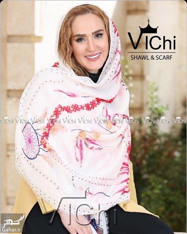 201734 Gahar ir مدل شدن زهره فکورصبور برای یک برند شال و روسری / تصاویر
