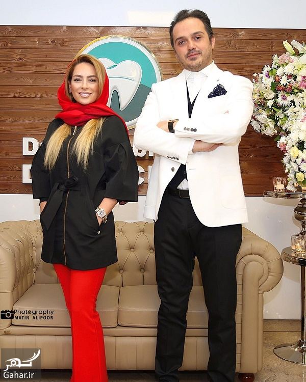 224509 Gahar ir تیپ متفاوت سمانه پاکدل در افتتاحیه یک کلینیک / 3 عکس