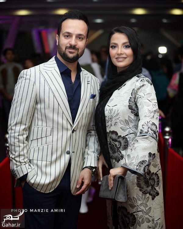301702 Gahar ir احمد مهرانفر و همسرش در اکران خصوصی فیلم خجالت نکش / 6 عکس